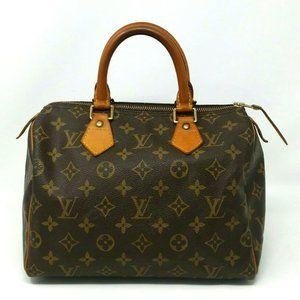 Louis Vuitton Speedy 25 Monogram Boston Bag VTG